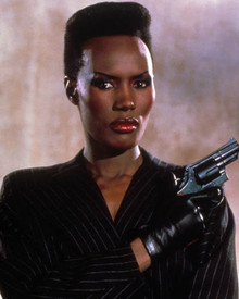 Grace Jones in A View to a Kill Poster and Photo