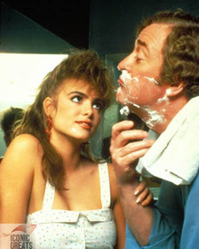 Michael Caine & Michelle Johnson in Blame it on Rio Poster and Photo
