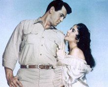 Rock Hudson & Elizabeth Taylor in Giant Poster and Photo