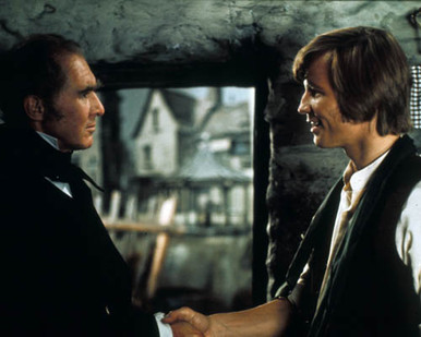 Michael York & Anthony Quayle in Great Expectations (1974) Poster and Photo