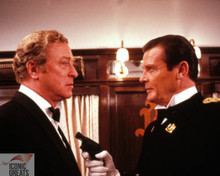 Michael Caine & Roger Moore in Bullseye! Poster and Photo