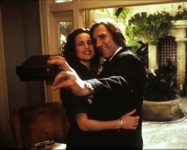 Gerard Depardieu & Andie MacDowell in Green Card Poster and Photo