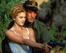 Drew Barrymore & Michael Ironside in Guncrazy Poster and Photo