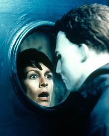 Jamie Lee Curtis in Halloween H20: 20 Years Later Poster and Photo