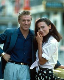 Robert Redford & Lena Olin in Havana Poster and Photo