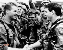 Val Kilmer & Tom Cruise in Top Gun Poster and Photo