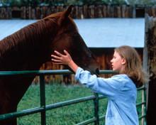 Scarlett Johansson in The Horse Whisperer Poster and Photo