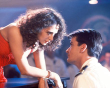 Charlie Sheen & Valeria Golino in Hot Shots Poster and Photo