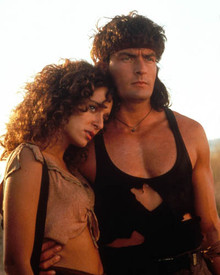Charlie Sheen & Valeria Golino in Hot Shots: Part Deux Poster and Photo