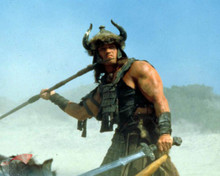 Arnold Schwarzenegger in Conan the Barbarian Poster and Photo