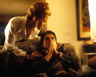 Tom Cruise & Kelly Preston in Jerry Maguire Poster and Photo