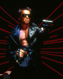 Arnold Schwarzenegger in The Terminator Poster and Photo
