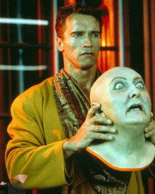 Arnold Schwarzenegger in Total Recall Poster and Photo