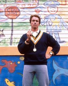 Arnold Schwarzenegger in Kindergarten Cop Poster and Photo
