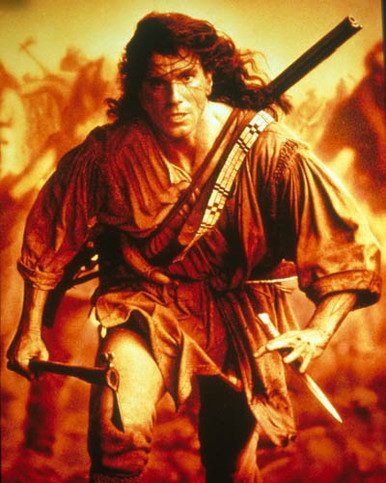 Daniel Day-Lewis in Last of the Mohicans Poster and Photo