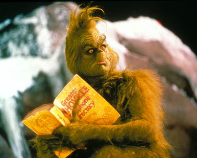 How The Grinch Stole Christmas Jim Carrey.Jim Carrey In Dr Seuss How The Grinch Stole Christmas A K A The Grinch A K A How The Grinch Stole Christmas Premium Photograph And Poster 1007907