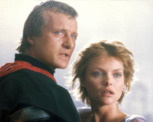 Rutger Hauer & Michelle Pfeiffer in Ladyhawke Poster and Photo