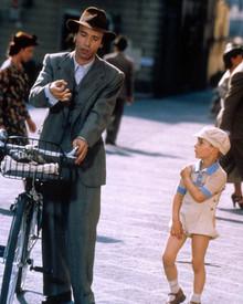 Roberto Benigni & Giorgio Cantarini in Life is Beautiful a.k.a. La Vita e Bella Poster and Photo