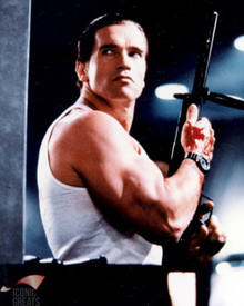Arnold Schwarzenegger in Raw Deal Poster and Photo