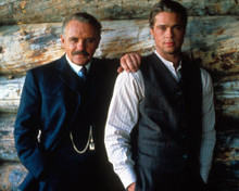 Anthony Hopkins & Brad Pitt in Legends of the Fall Poster and Photo