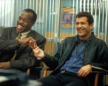 Mel Gibson & Danny Glover in Lethal Weapon 4 Poster and Photo
