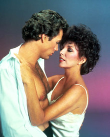 Jon-Erik Hexum & Joan Collins in Making of a Male Model Poster and Photo