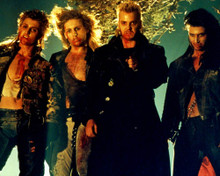 Kiefer Sutherland & Corey Haim in The Lost Boys Poster and Photo