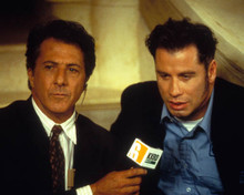 Dustin Hoffman & John Travolta in Mad City Poster and Photo