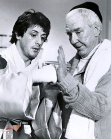 Sylvester Stallone & Burgess Meredith in Rocky Poster and Photo