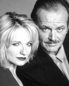 Jack Nicholson & Ellen Barkin in Man Trouble Poster and Photo