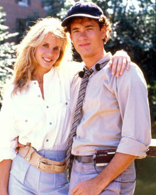Tom Hanks & Lori Singer in The Man With the One Red Shoe Poster and Photo