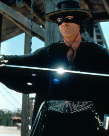 Antonio Banderas in The Mask of Zorro Poster and Photo