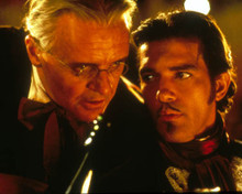 Antonio Banderas & Anthony Hopkins in The Mask of Zorro Poster and Photo