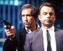 Chevy Chase & Sam Neill in Memoirs of an Invisible Man Poster and Photo