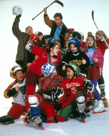 Emilio Estevez in The Mighty Ducks Poster and Photo