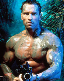 Arnold Schwarzenegger in Predator Poster and Photo