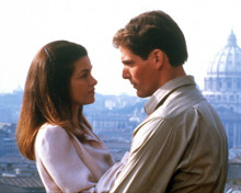 Christopher Reeve & Genevieve Bujold in Monsignor Poster and Photo