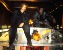 Wesley Snipes & Woody Harrelson in The Money Train Poster and Photo
