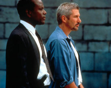 Richard Gere & Sidney Poitier in The Jackal Poster and Photo