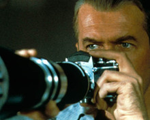 James Stewart in Rear Window (Alfred Hitchcock) Poster and Photo