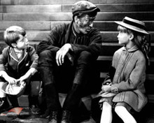 Matthew Garber & Dick Van Dyke in Mary Poppins Poster and Photo
