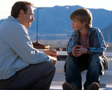 Kevin Spacey & Haley Joel Osment in Pay It Forward Poster and Photo