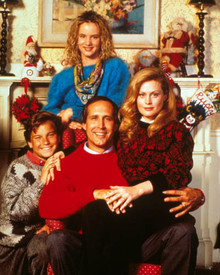 Chevy Chase & Beverly D'Angelo in National Lampoon's Christmas Vacation Poster and Photo