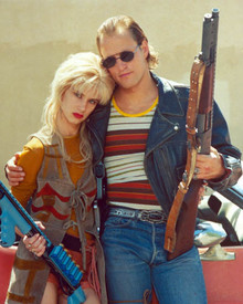 Woody Harrelson & Juliette Lewis in Natural Born Killers Poster and Photo