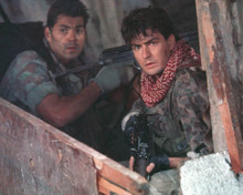 Charlie Sheen in Navy SEALS Poster and Photo
