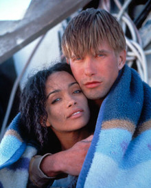 Stephen Baldwin & Lisa Bonet in New Eden Poster and Photo