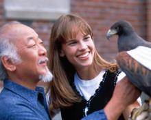 Hilary Swank & Noriyuki 'Pat' Morita in The Next Karate Kid Poster and Photo
