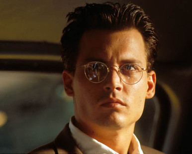 Johnny Depp in Nick of Time Poster and Photo