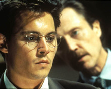 Johnny Depp & Christopher Walken in Nick of Time Poster and Photo