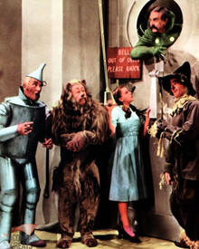 Jack Haley & Ray Bolger in The Wizard of Oz Poster and Photo